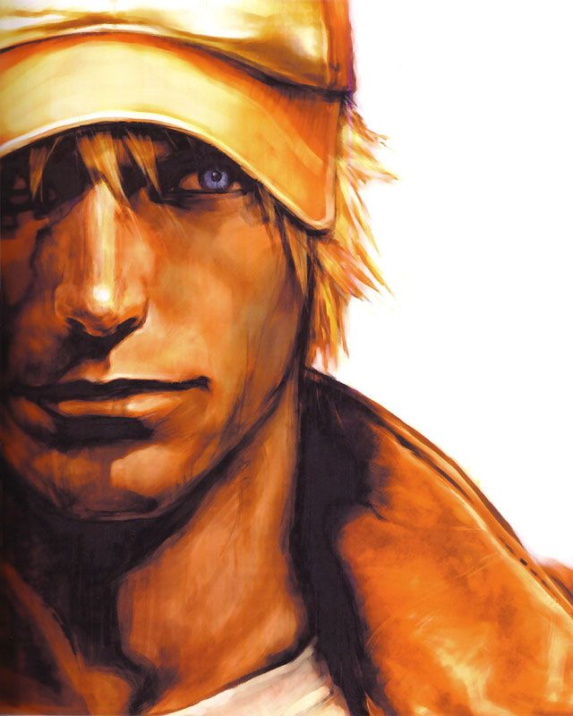 Terry Bogard Face Characters Art King Of Fighters King Of Fighters Fighter Art Of Fighting