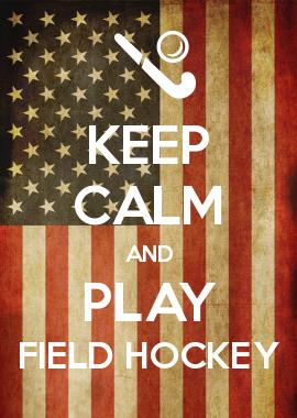 KEEP CALM AND PLAY FIELD HOCKEY