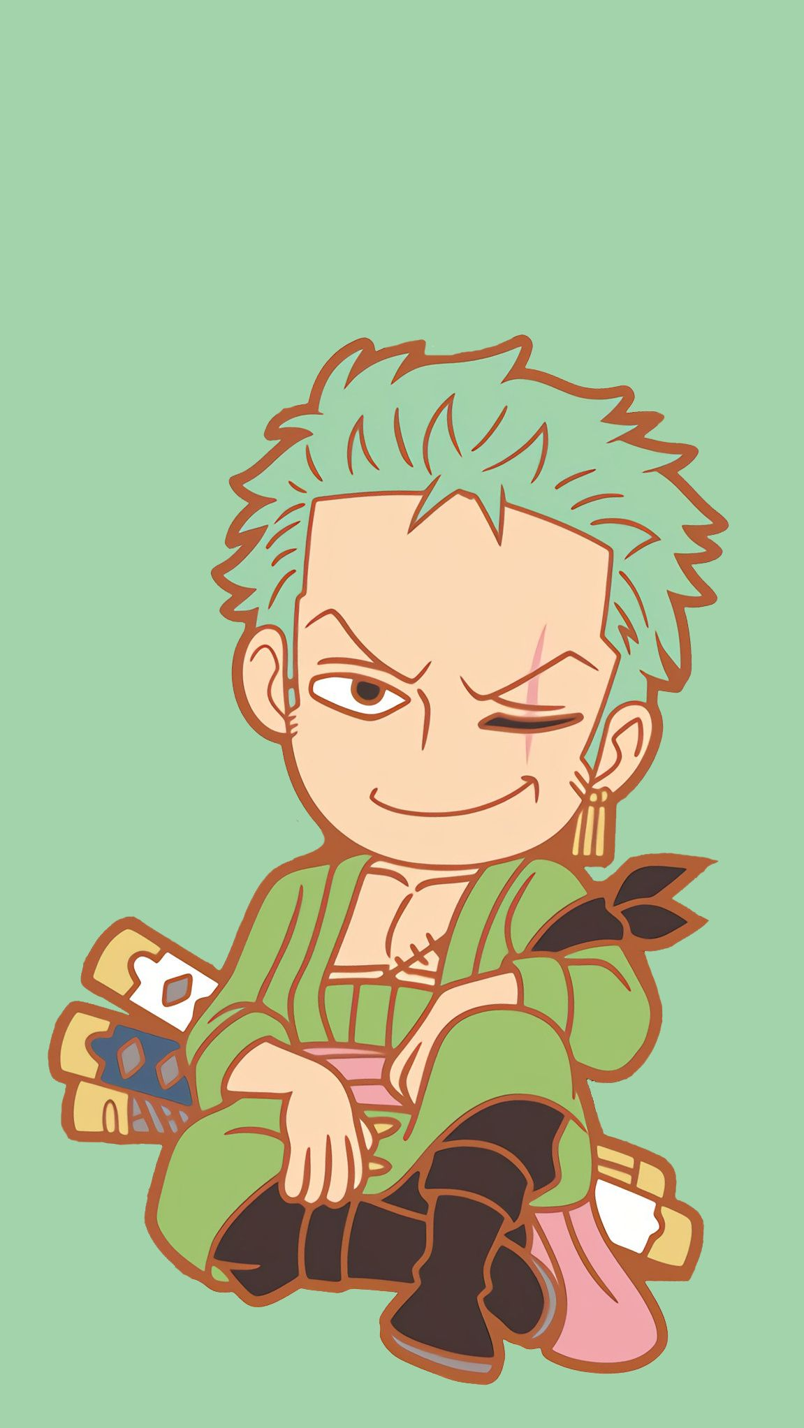 Zoro Chibi One Piece Addict Pinterest Zoro Roronoa Zoro And