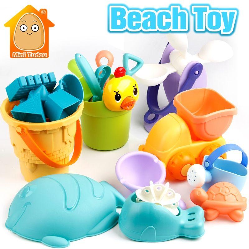 9 Piezas 19 Piezas Plastico Suave Bebe Juguetes De Playa Juego De