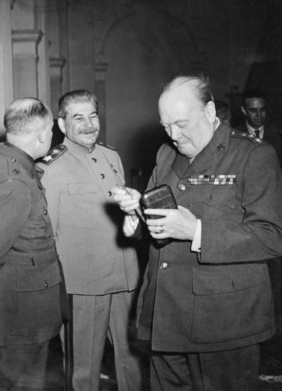 Yalta Conference February 1945 Winston Churchill Takes A Fresh