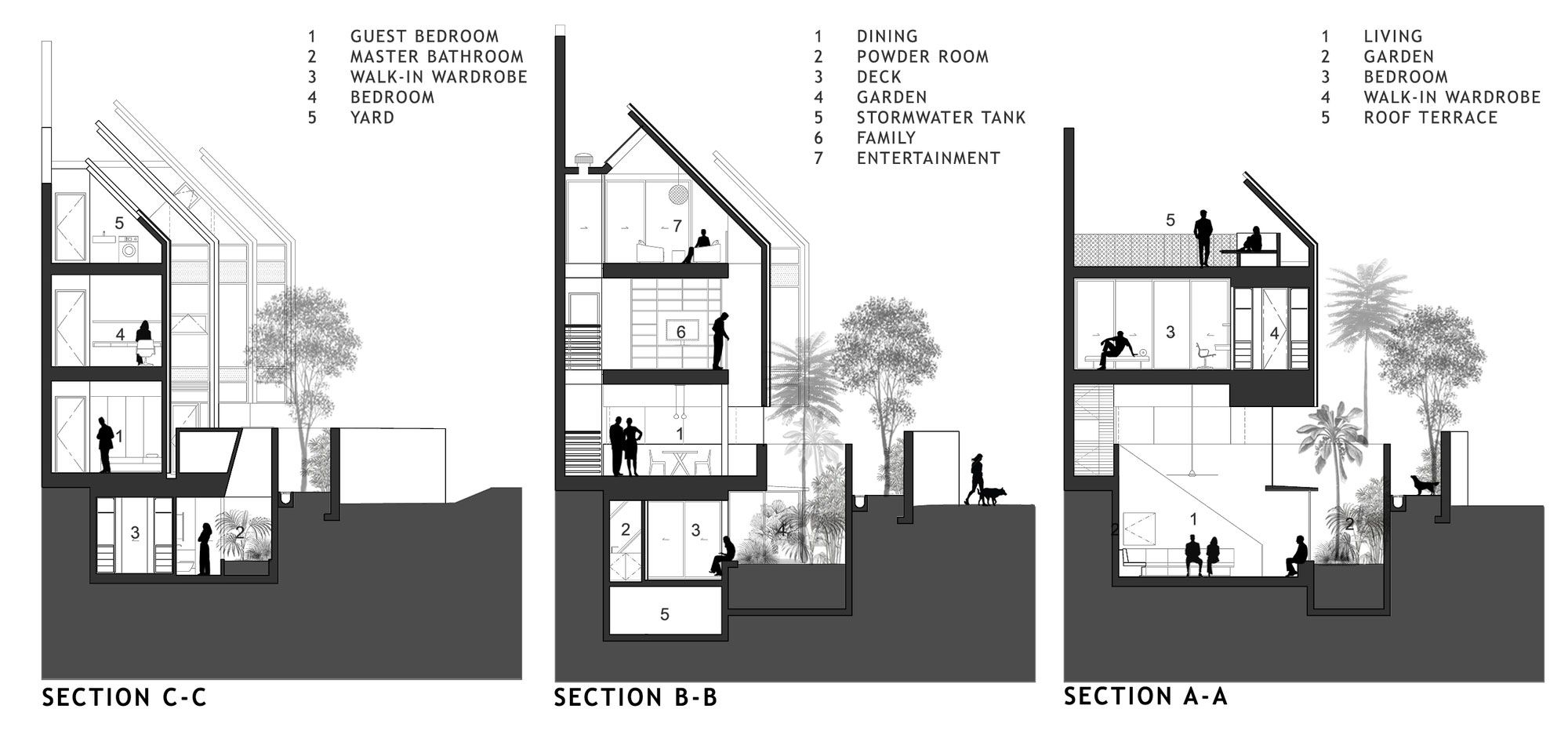 Bathroom section drawing - Afbeeldingsresultaat Voor House Section Architecture