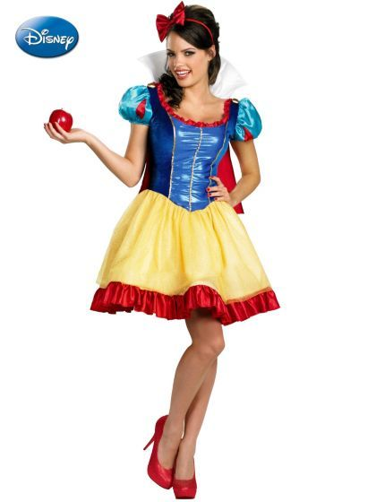 Deluxe Sassy Snow White Costume Cheap Disney Princess Costumes For