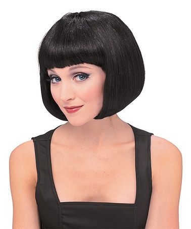 Loving this Black Super Model Wig - Adult on #zulily! #zulilyfinds