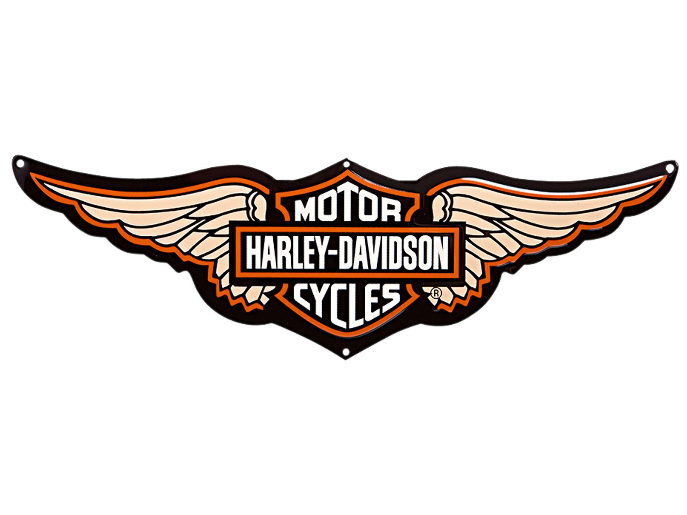 Harley Davidson Log: Harley Davidson Logo Images Wallpaper HD #3444 Wallpaper