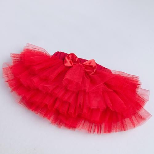 aff13b766d Pettiskirt Baby Girls 3 Colors Tutu Skirt Rose Red Newborn Chiffon 6 layer  Skirts Infant Girls Birthday Party Clothes