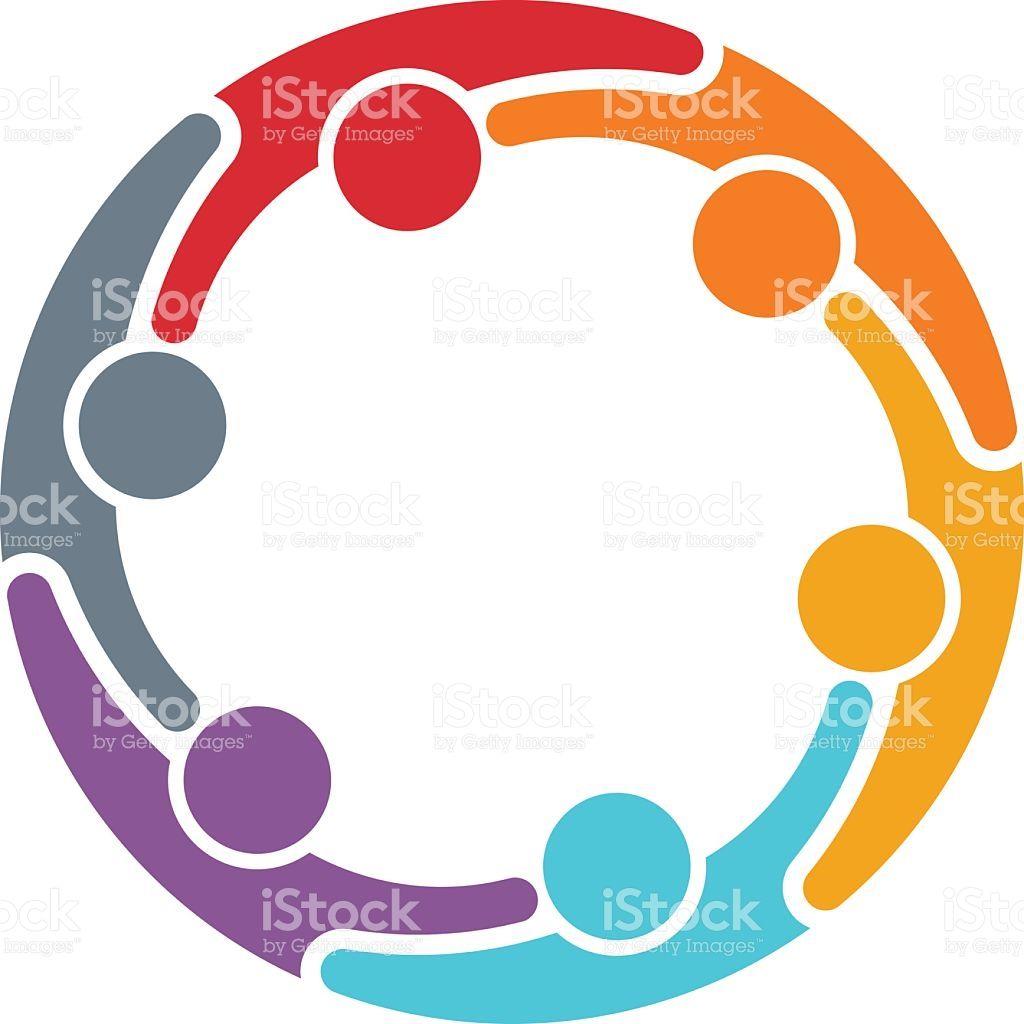 people group teamwork illustration logos