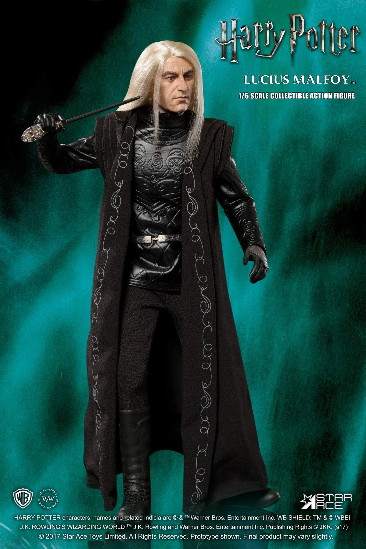 Lucius Malfoy - Wizard Robe - Toy Anxiety
