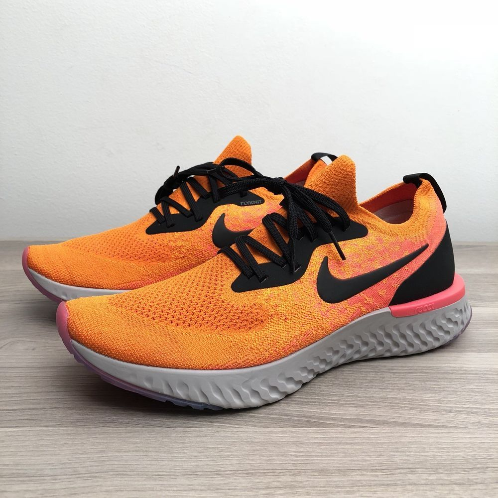 47cc44bb70c5 Nike Epic React Flyknit AQ0067-800 Mens US Size 11 Copper Flash Orange   fashion  clothing  shoes  accessories  mensshoes  athleticshoes
