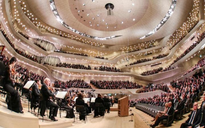 Pictures Of The Day 12 January 2017 Elbphilharmonie Concert Hall Concert Hall Algorithm Design