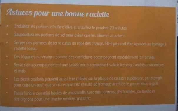 Trucos para una buena raclette