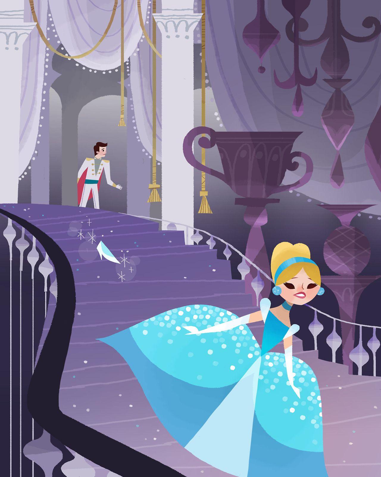 Joey Chou Disney Art Cinderella