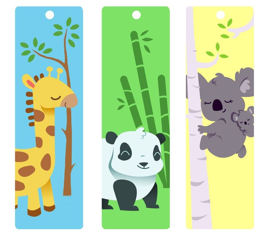 image regarding Cute Printable Bookmarks named Adorable Bookmarks For Small children Kiddo Shelter Printable