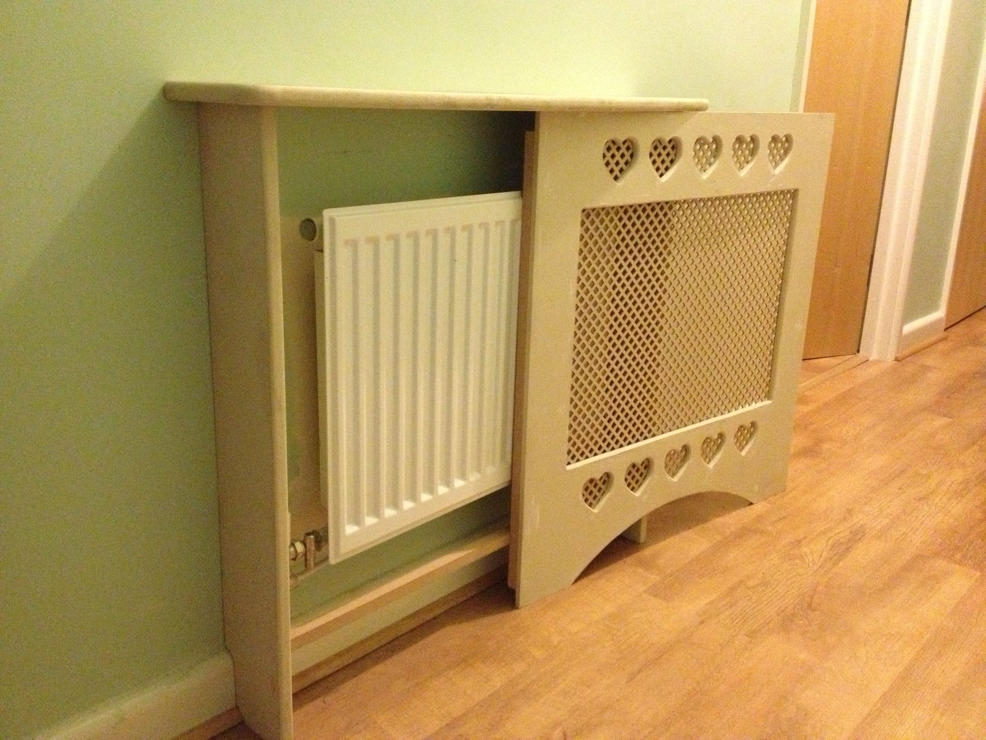 Removable radiator panels allows easy access for maintenance ...