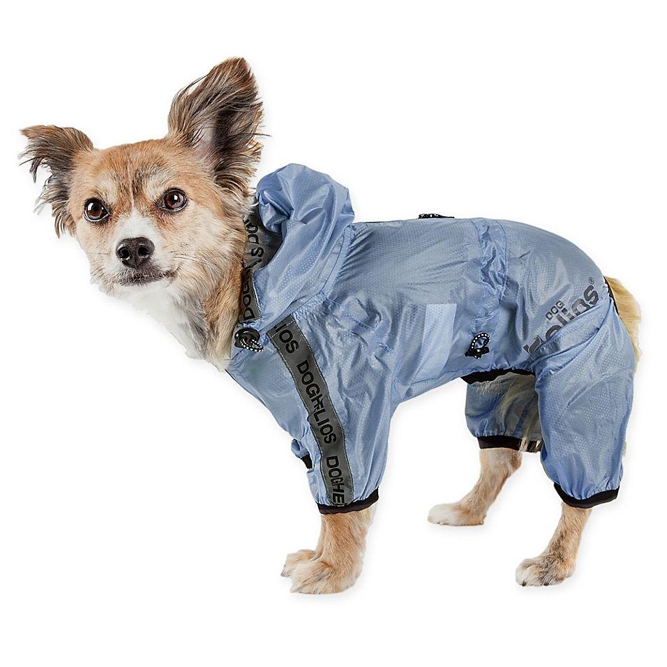 Torrential Shield Extra Small Full Body Dog Windbreaker Raincoat