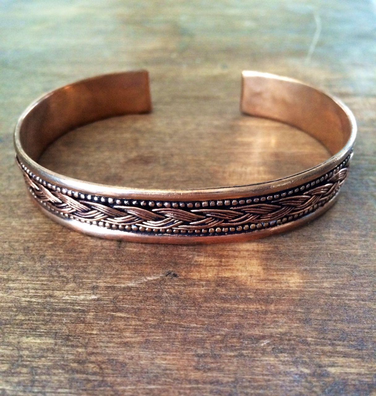 Men S Copper Cuff Bracelet 615