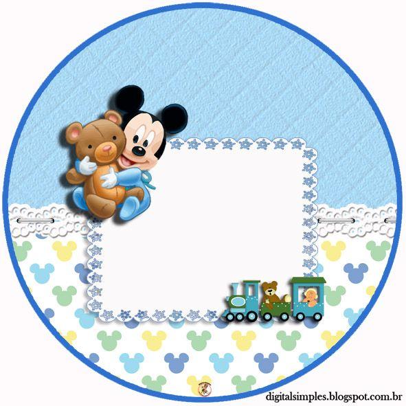 Resultado de imagen para mickey baby | Fiestas | Pinterest | Mickey ...
