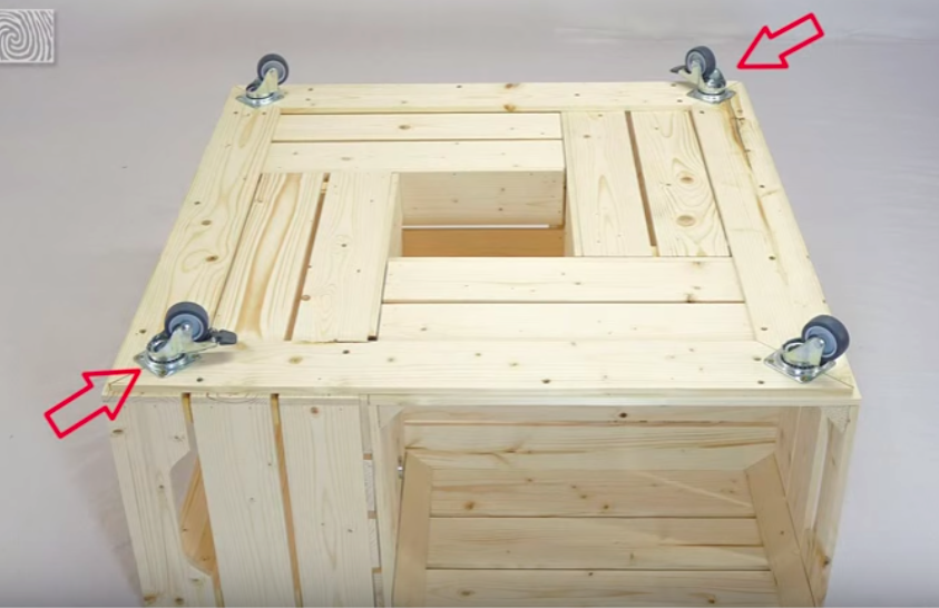 Fabriquer une table basse avec des caisses de vin magazines design et tables - Fabriquer une table basse design ...
