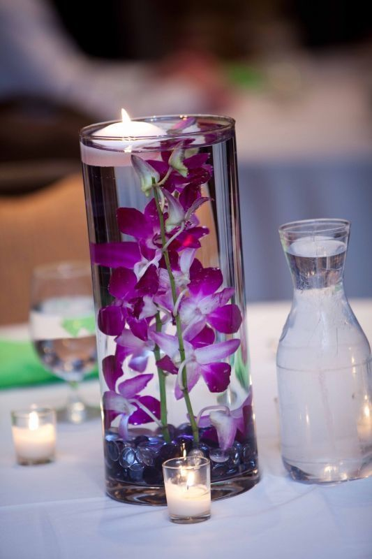 Lavender And Gray Wedding Decorations Five Easy Do It Yourself Centerpiece Ideas