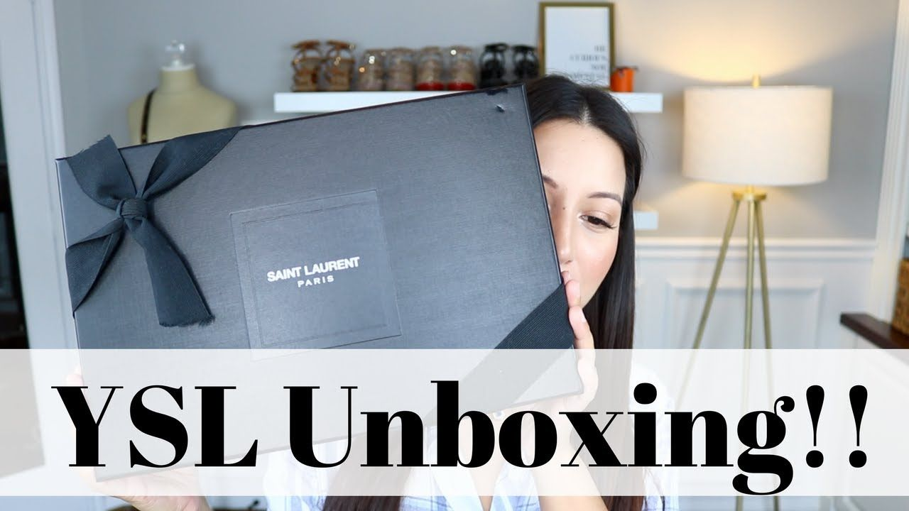 MY FIRST YSL BAG! | Unboxing + Reveal | LuxMommy