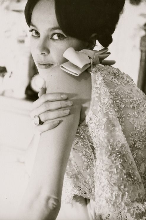 Actress and dancer Leslie Caron (ph. Norman Parkinson) My mum was a fan of hers which is why I got named Karen