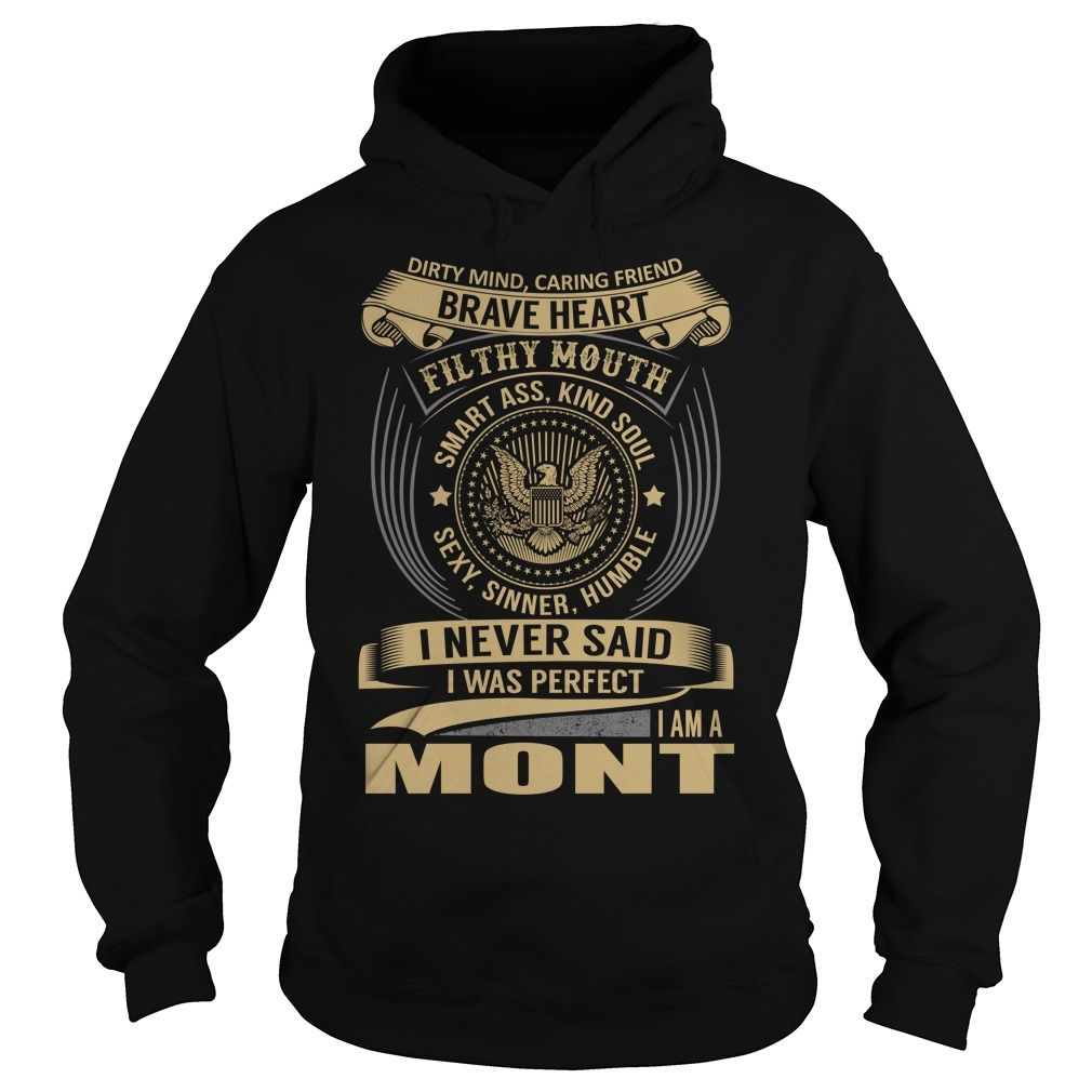 [Cool tshirt names] MONT Last Name Surname T-Shirt Coupon 5% Hoodies, Funny Tee Shirts