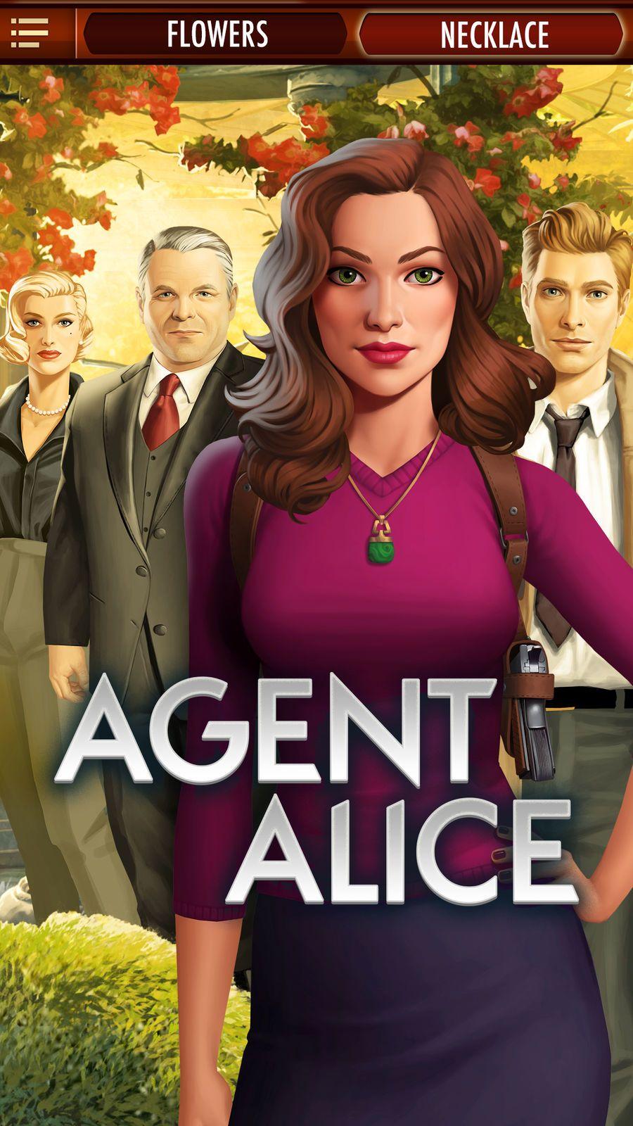 Agent Alice AdventurePuzzleappsios Alice, App, The