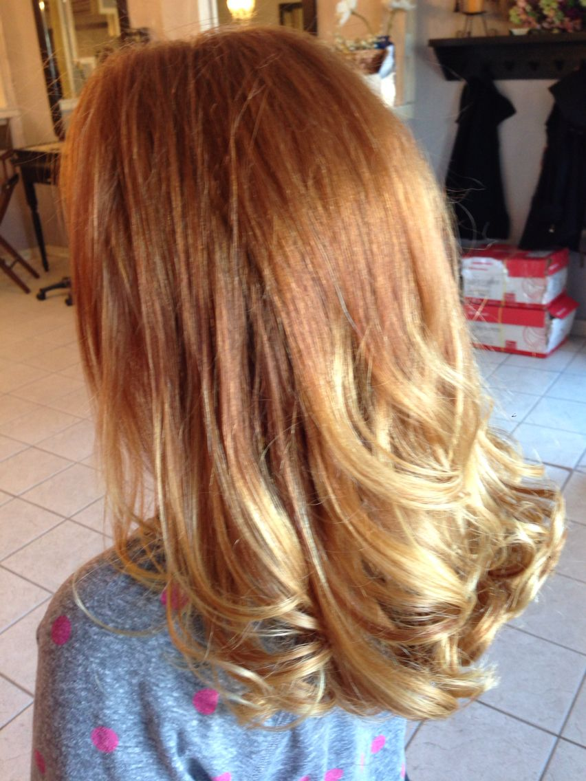 Ombre Natural Red Hair With Blonde Ends Red Blonde Ombre Red To Blonde Natural Red Hair