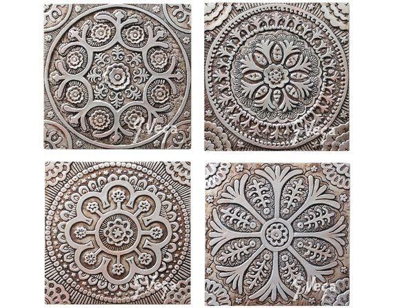 Piastrella Decorativa Suzani Piastrelle In Ceramica Decor