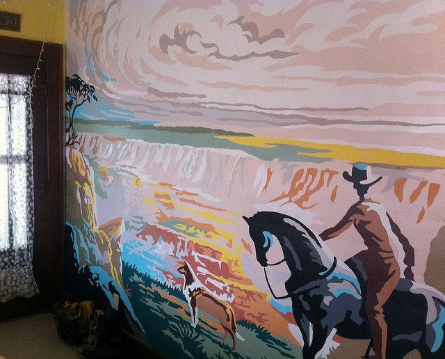 Western Mural Mural Nursery Mural Wall Murals Painted