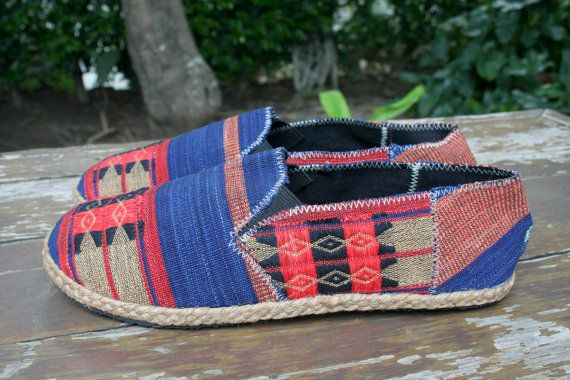 Vegan Mens Shoes Loafer Style Espadrilles in by SiameseDreamDesign