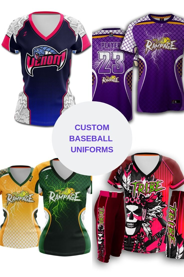 Get the Women's custom sublimated Fastpitch uniforms