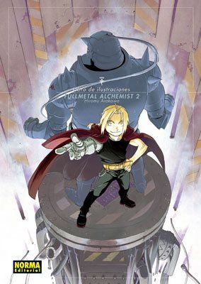 Fullmetal alchemist artbook #2