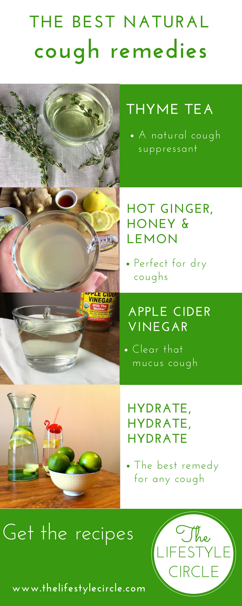 How to get rid of a tickly cough naturally