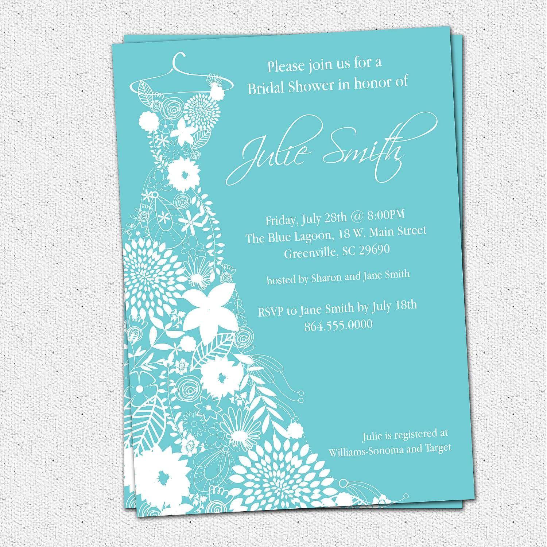 Bridal Shower Invitation Templates Microsoft Word Bridal