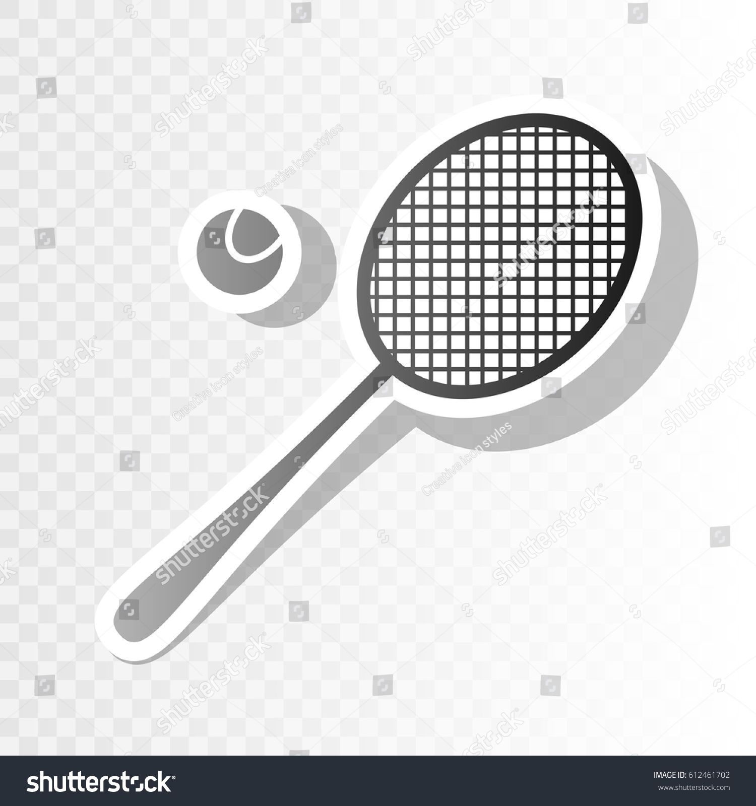 Tennis Racquet Sign Vector Blackish Icon On Transparent Background With Transition Ad In 2020 Website Template Design Template Design Responsive Website Template