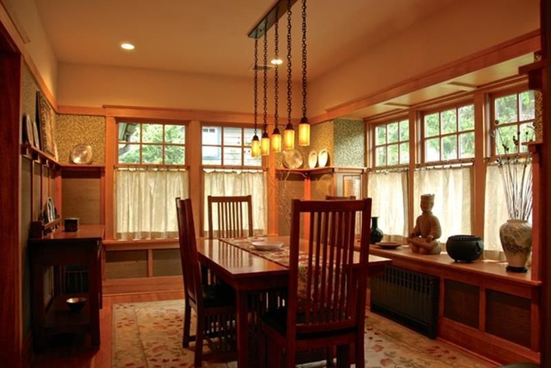 26 Charming Craftsman Dining Room Lighting Design  Perfect Dining Delectable Craftsman Dining Room Lighting Inspiration Design