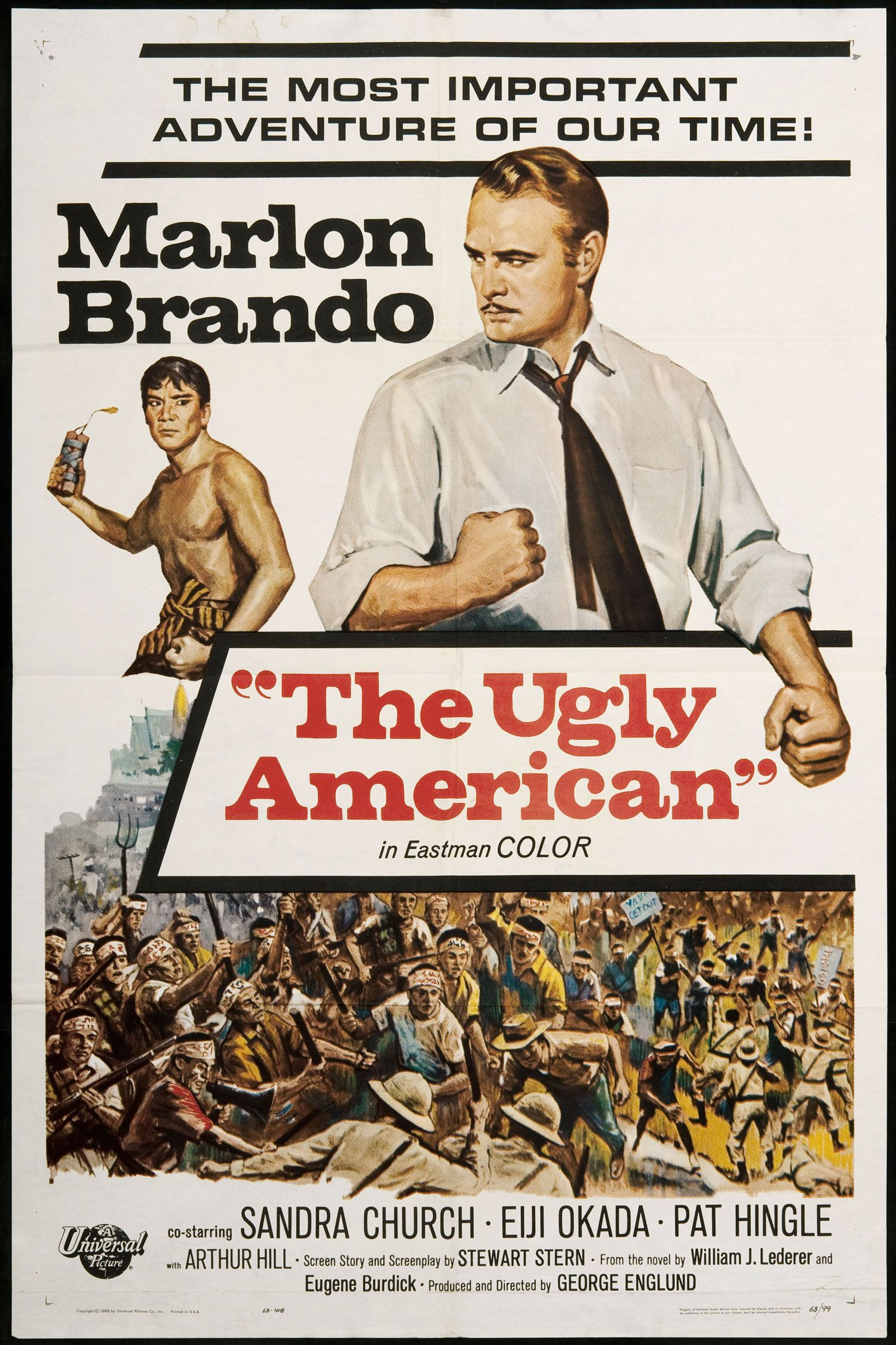 Image result for the ugly american (1963)