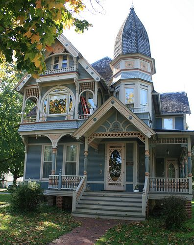 Mountpleasant Ia 15 Victorian Homes Victorian Style Homes Victorian Architecture