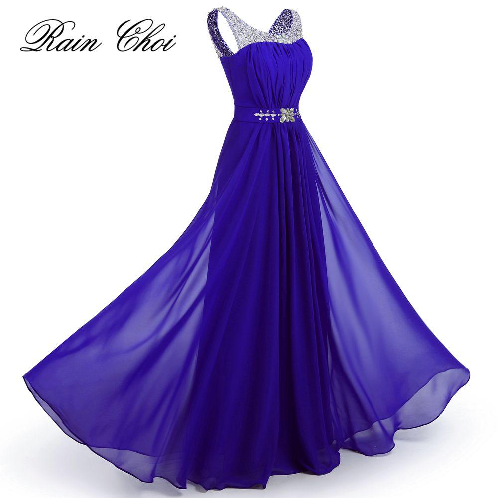 comprar Elegante largo del vestido de noche una línea de vestidos de ...
