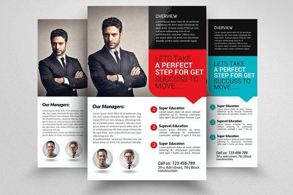 insurance company business flyer by business flyers on