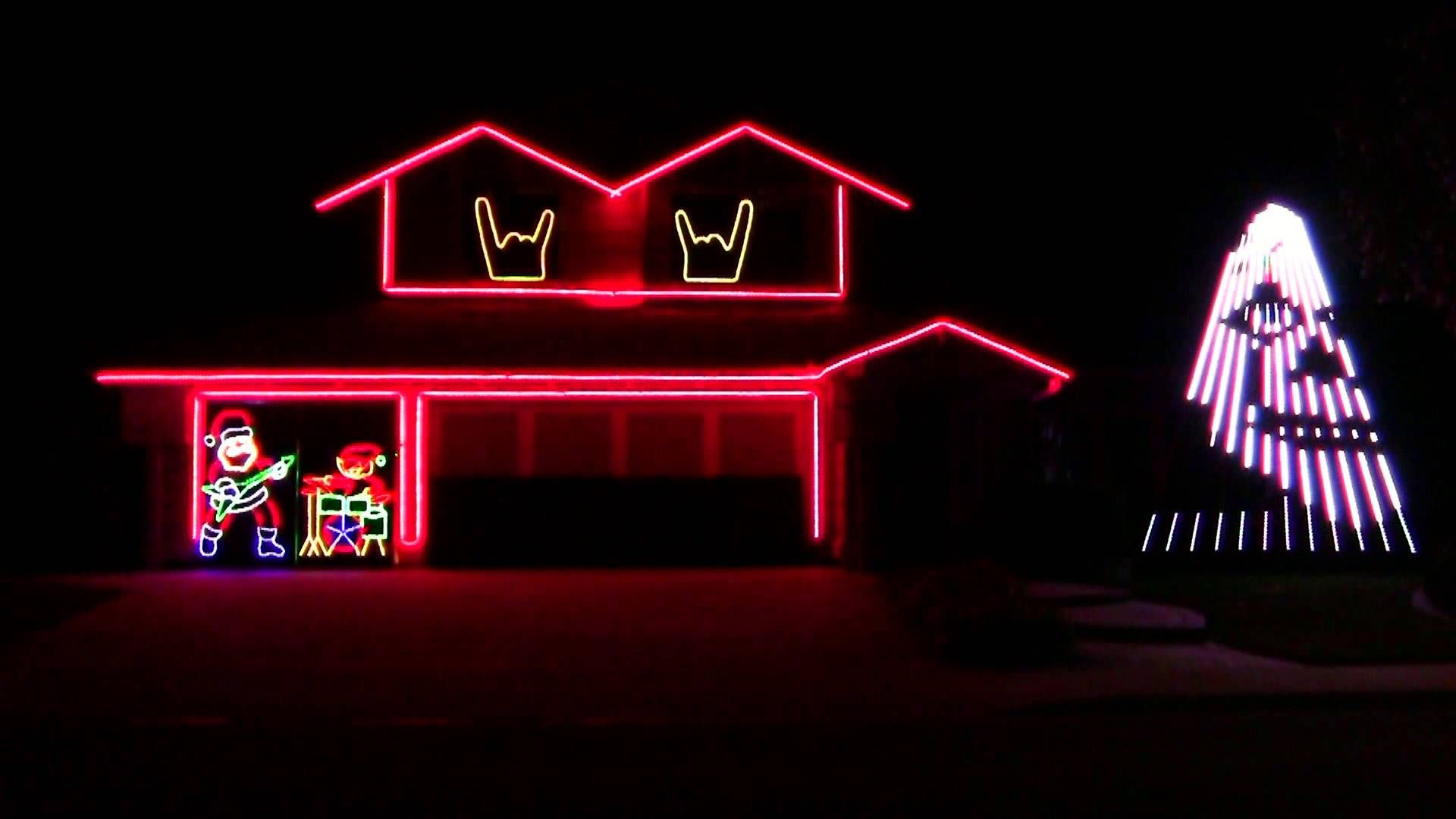 Slipknot Christmas Lights 2015 You Have To Watch This