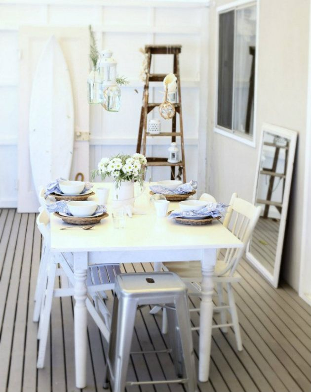 Room · Dining Room Beach Decor. Beach Cottage BedroomsBeach ...