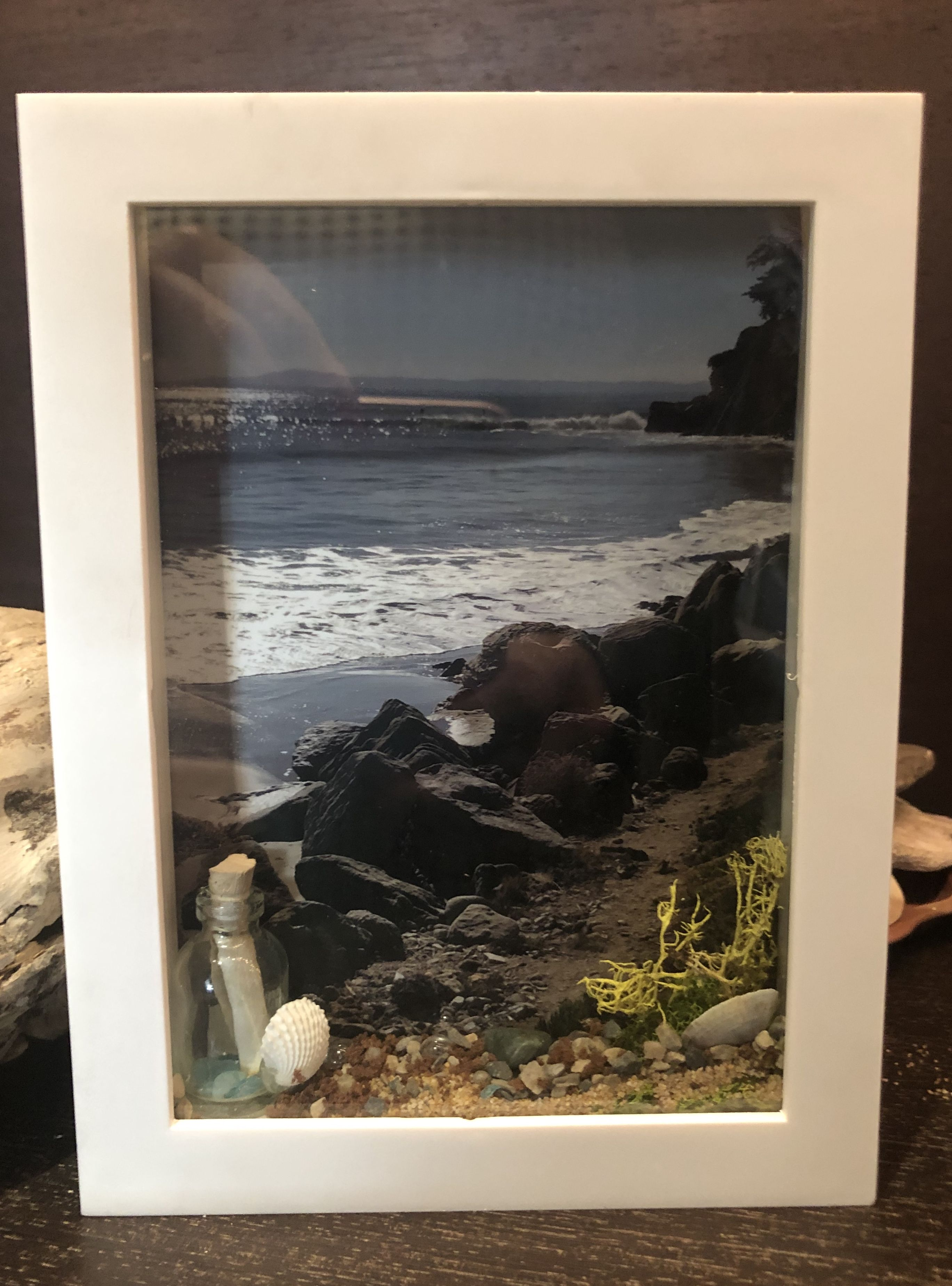 I Ve Created This Shadow Box Using Items I Collected While On My