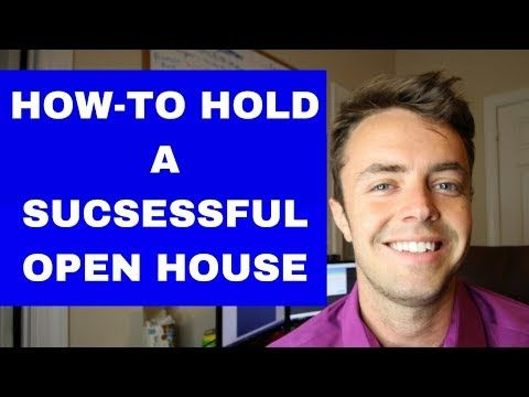 Many People Are Often Confused At What To Do Or Say During An Open House Overall Your First Few Open Hous Open House Open House Real Estate Real Estate Agent