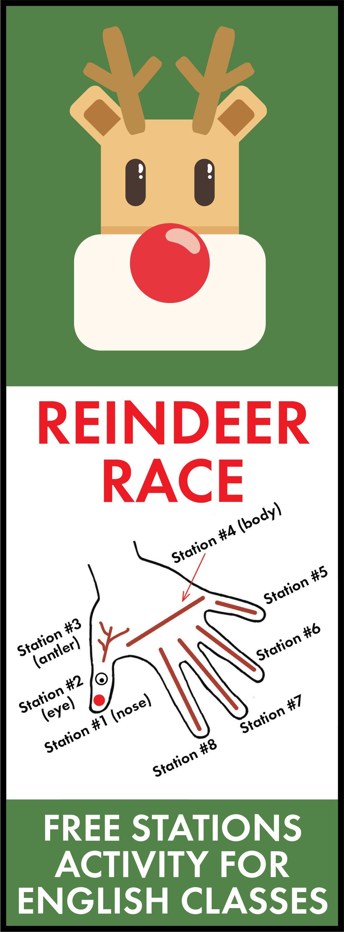 Turkey Trot Amp Reindeer Race Stations
