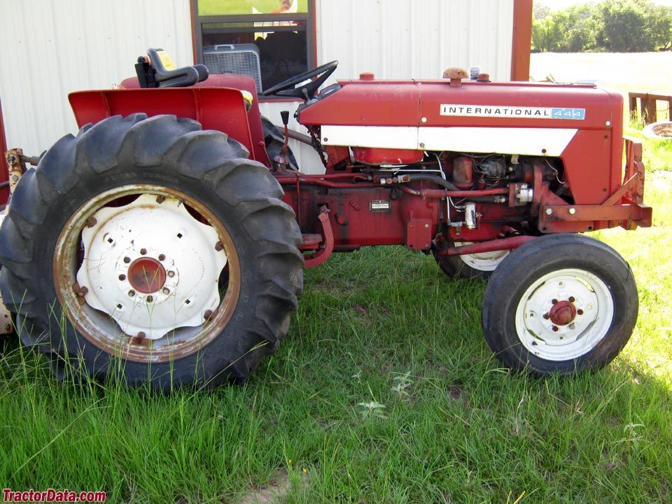 1974 international model 444 utility tractor tractors made in rh pinterest com IH Tractor Wiring Diagram Tractor Ignition Switch Wiring Diagram
