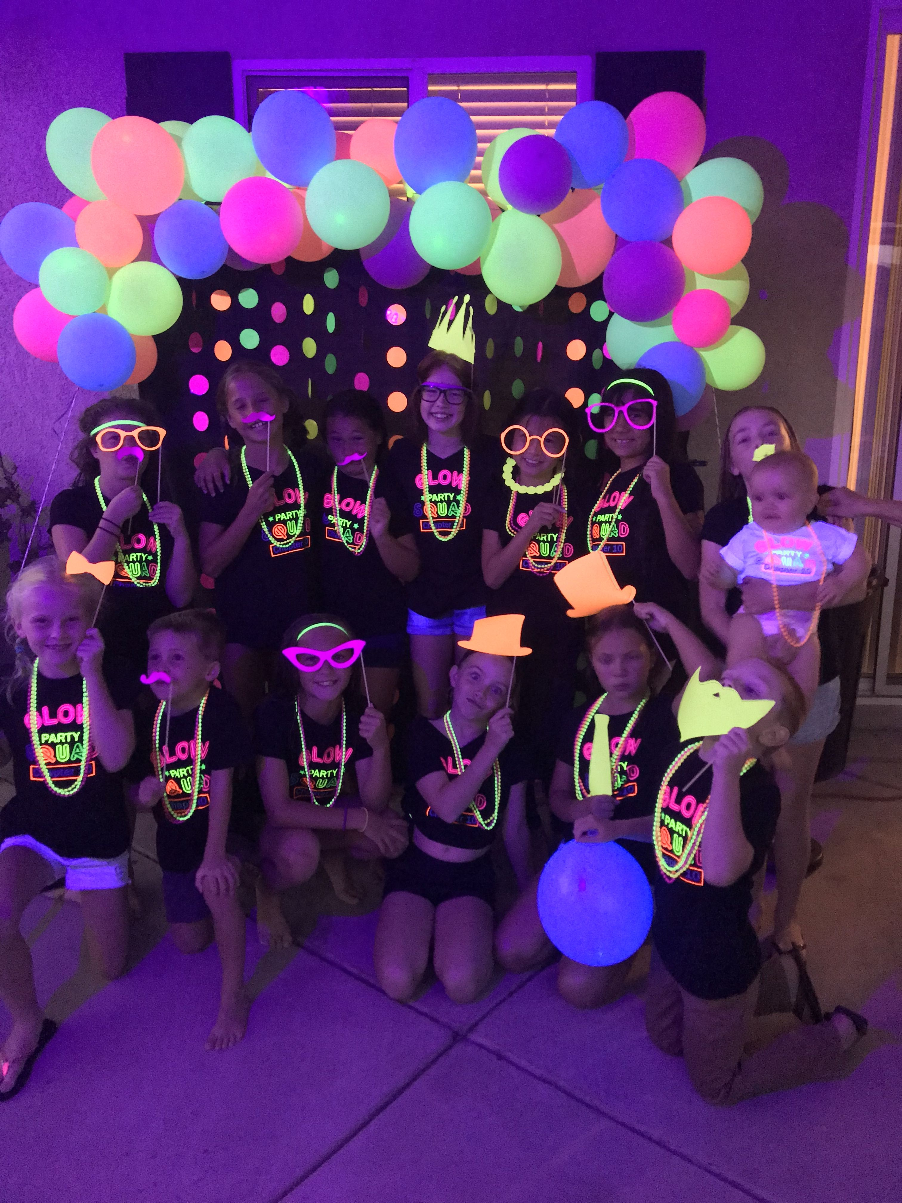 Pin By Tara Parrish On Party Ideas In 2019 Glow
