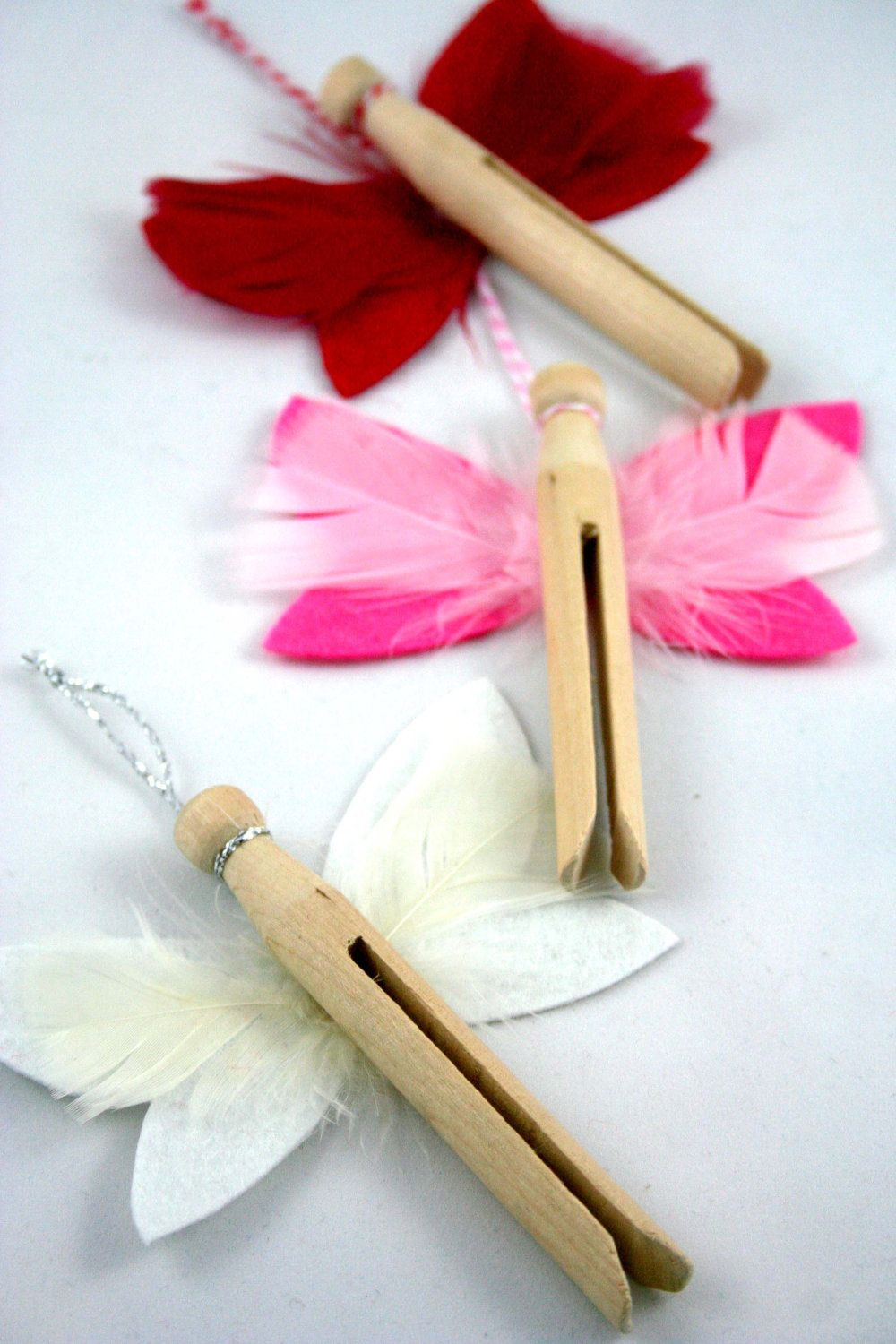 Or sleeping bags clothes pegs optional fairy lights optional - Xmas Dolly Peg Angel Decorations 2 50 Via Etsy