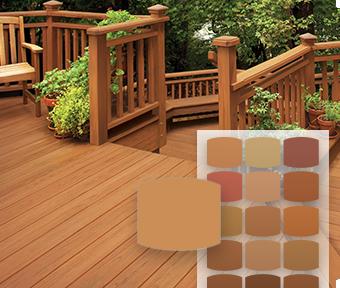 Semi Transparent Waterproofing Wood Stain Sealer Behr Premium